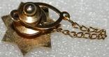 Петличный зажим для галстука шерифа полиции округа Санта Клара (США), фото №6