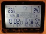 Домашняя метеостанция-ассистент Auriol с сенсорной панелью 2019 г.(Германия, фото №4