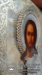Икона Господь Вседержитель 1886 год, оклад серебро, фото №5