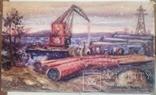 Стройка газопровода.Н.Нечвоглод.39-64см., фото №3