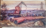 Стройка газопровода.Н.Нечвоглод.39-64см., фото №2