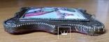Ікона Микола Чудотворець, фініфть,  7,1х6,2 см, фото №9