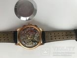 Швейцарские часы хронограф лунник, фото №6