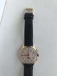 Швейцарские часы хронограф лунник, фото №13