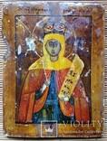 Ікона Параскева П'ятниця, мідь, 10,8х8,4 см, фото №8