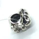 Шарм серебро Pandora слон, фото №2