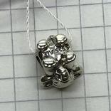 Шарм серебро Pandora слон, фото №3