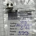 Шарм серебро Pandora слон, фото №5