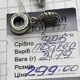 Шарм серебро Pandora, фото №4