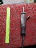 Металлическая приспособа самодельная нержавейка ракета, фото №3