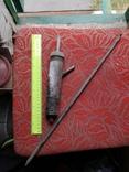 Металлическая приспособа самодельная нержавейка ракета, фото №13