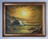 Морской пейзаж  х.м. 40х51, фото №2