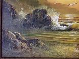 Морской пейзаж  х.м. 40х51, фото №5