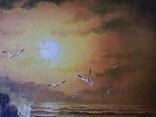 Морской пейзаж  х.м. 40х51, фото №7