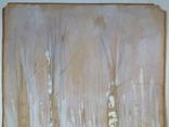 Этюд. Зимние березы. 62х49,5, фото №6