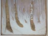 Этюд. Зимние березы. 62х49,5, фото №7