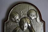 Икона серебро 925пр.   21х15, фото №4