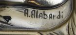 Икона серебро 925пр.   21х15, фото №6