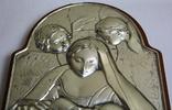 Икона серебро 925пр.   21х15, фото №7
