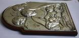 Икона серебро 925пр.   21х15, фото №9