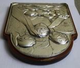 Икона серебро 925пр.   21х15, фото №10