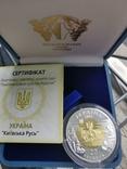 Киевская Русь биметалл серебро золото, фото №2