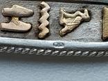 Кулон серебро с позолотой  с именем Татьяна Египетский, фото №6