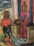 Икона Усекновение главы Иоанна Предтечи.36.5х29.5х3.5 См, фото №5