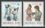 Норвегия 1989 Европа септ детские игры, фото №2