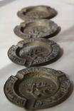 Бронзовые/латунные пепельницы Португалия и две в форме курительных трубок., фото №5
