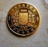 200 гривен 1996 Шевченко, фото №3