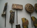 Мегалот 25 значков СССР прибалты туризм, фото №3