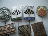 Мегалот 25 значков СССР прибалты туризм, фото №4