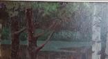Картина*Лунная ночь*к/м,44*55,худ.Юзефович В.Г.1948г, фото №5