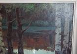 Картина*Лунная ночь*к/м,44*55,худ.Юзефович В.Г.1948г, фото №11