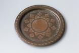 Тарелка бронзовая (медная? латуная?) декоративная на стену. Турция, фото №2