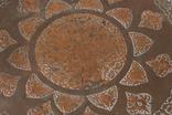 Тарелка бронзовая (медная? латуная?) декоративная на стену. Турция, фото №3