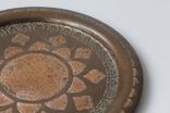 Тарелка бронзовая (медная? латуная?) декоративная на стену. Турция, фото №6