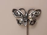Заколка Метелик., фото №3