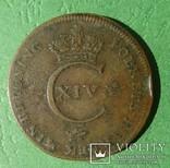 1 скилинг, 1821 год, Швеция., фото №3