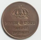 5 эре 1956 г. Швеция, фото №3