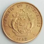 5 центов 1982 г. Сейшелы, фото №3