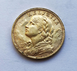 20 франков 1947 года. Швейцария, фото №3