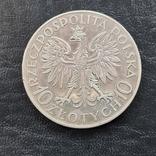 10 злотых 1933 г Ян Собеский, фото №3