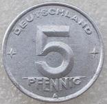 5 Пфенигов 1948 г. ГДР, фото №2
