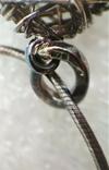 Подвеска Серебро 925 Клубок на Цепочке Италия Italy, фото №11