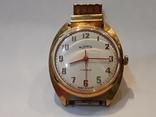 Позолоченые часы Восток  с браслетом, фото №3