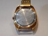 Позолоченые часы Восток  с браслетом, фото №4