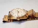 Позолоченые часы Восток  с браслетом, фото №5
