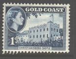 Брит. колонии. Золотой Берег. 1952. Нац. мотивы, 1 п. *., фото №2
